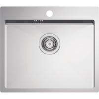 Кухненска мивка Alveus Quarto 10, 550x480 мм, Дълбочина на коритото 190 мм, Включен сифон, Inox