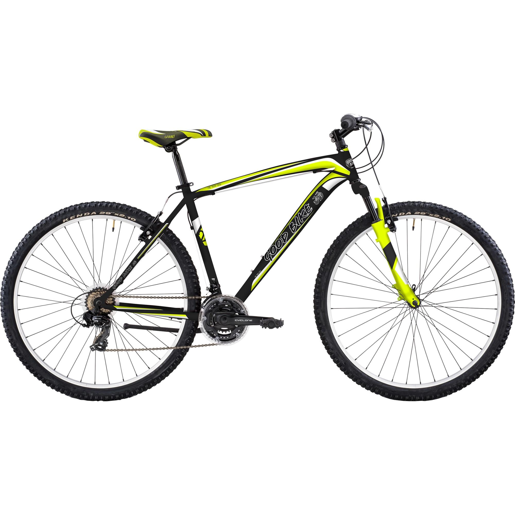 Fotografie Bicicleta MTB 29-er Good Bike Seattle A, Black/Yellow, 51cm/ M-L