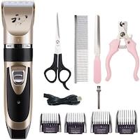 Професионална машинка за подстригване на животни HOPE R, Ножица, Гребен, Клещи за разяне нокти, Пила