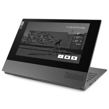 Лаптоп Lenovo ThinkBook Plus IML с Intel Core i7-10510U (1.80/4.90 GHz, 8M), 16 GB, 512GB M.2 NVMe SSD, Intel UHD Graphics, Windows 10 Pro 64-bit, сив