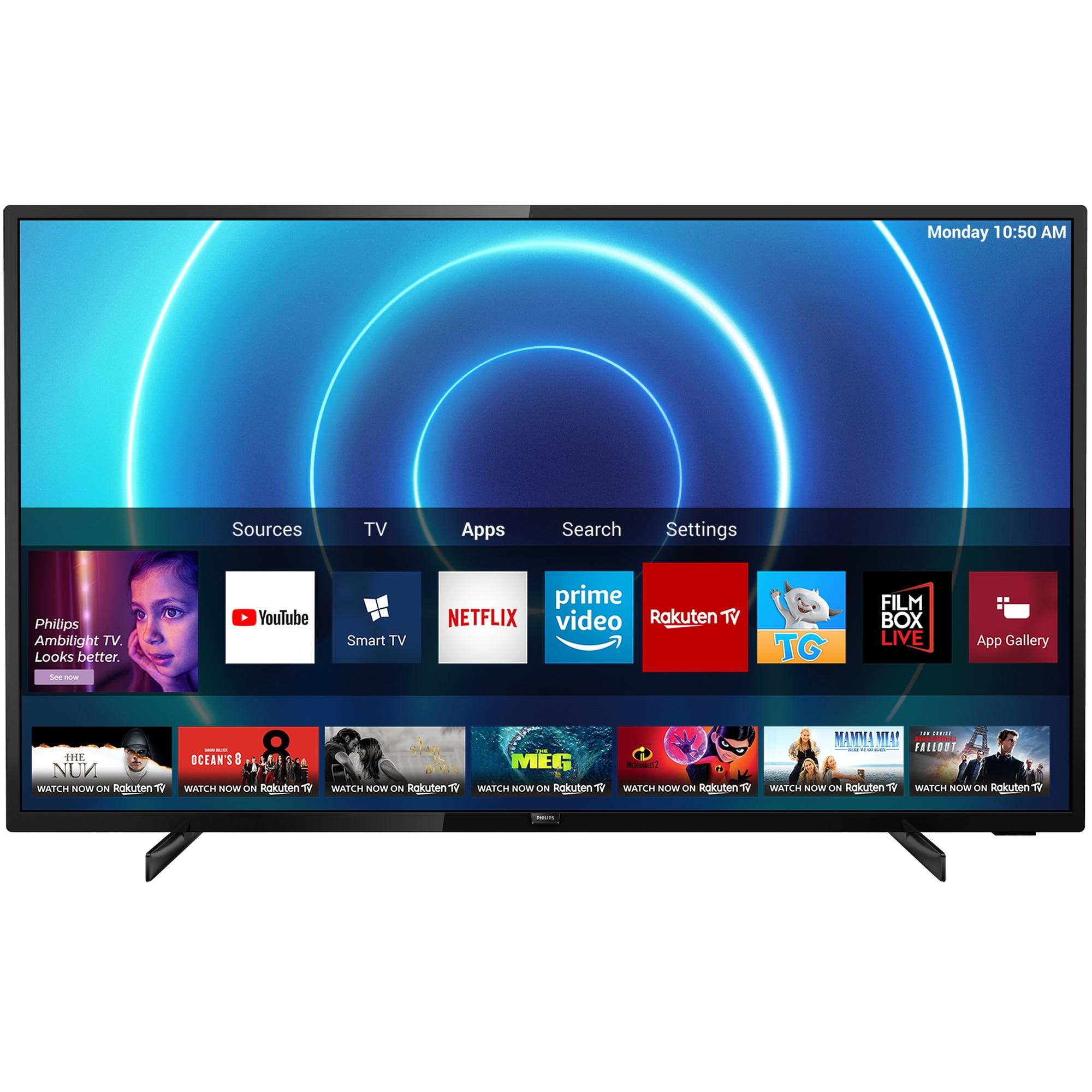 Fotografie Televizor Philips 43PUS7505/12, 108 cm, Smart, 4K Ultra HD, LED, Clasa A
