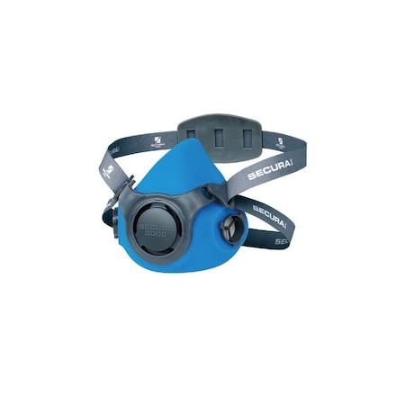 Semimasca de protectie Secura, Raw Pol, albastra
