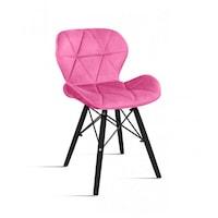 4 DB étkező - konyhai szék Milo bársony huzattal - rózsaszín