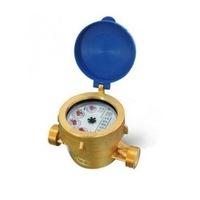 Водомер Gioanola, 1/2'', Студена вода, Комбиниран - мокър и сух, 3 куб.м/час, Без холендри
