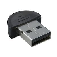 Gigapack BLUETOOTH adapter SZTEREO (USB 2.0, mini), Fekete