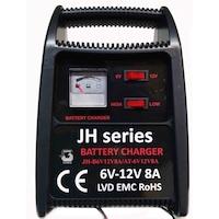 Akkumulátortöltő 6V - 12V 8A 230V 50/60Hz 108W