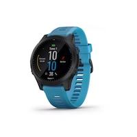 Garmin Forerunner 945 GPS futóóra HRM-TRI és HRM Swim pánttal - szürke-kék (010-02063-11)