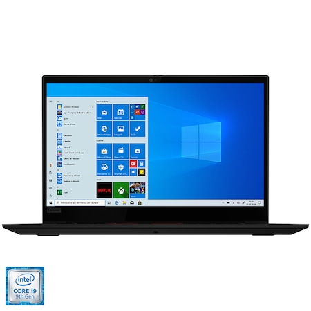 "Лаптоп LENOVO ThinkPad X1 Extreme Gen 2, 15.6"" Touch, Intel® Core™ i9-9880H, RAM 32GB, SSD 1TB, NVIDIA® GeForce® GTX 1650 4GB, Microsoft Windows 10 Pro, Black"