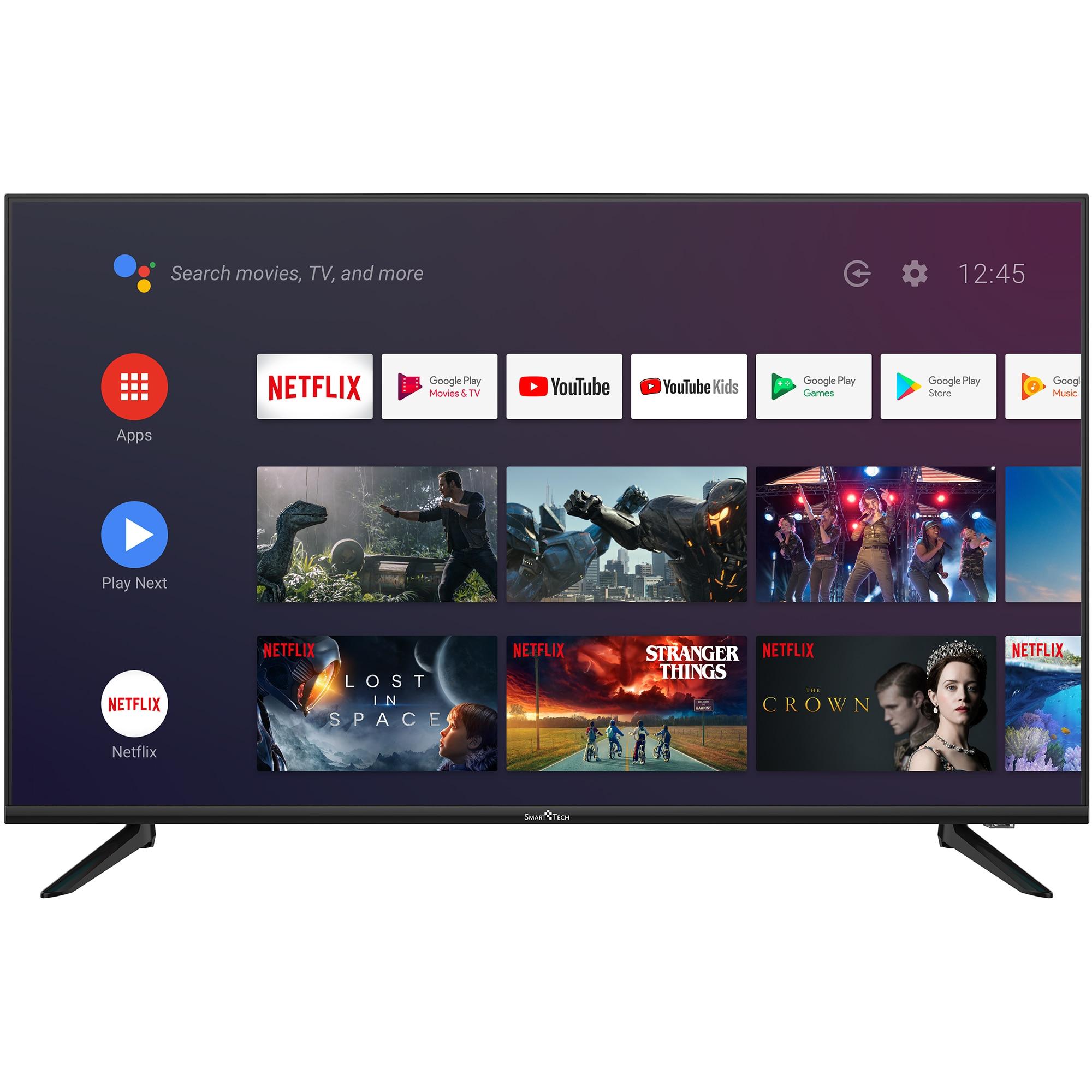 Fotografie Televizor Smart Tech 43F30UC2, 109 CM, Smart Android, 4K Ultra HD LED