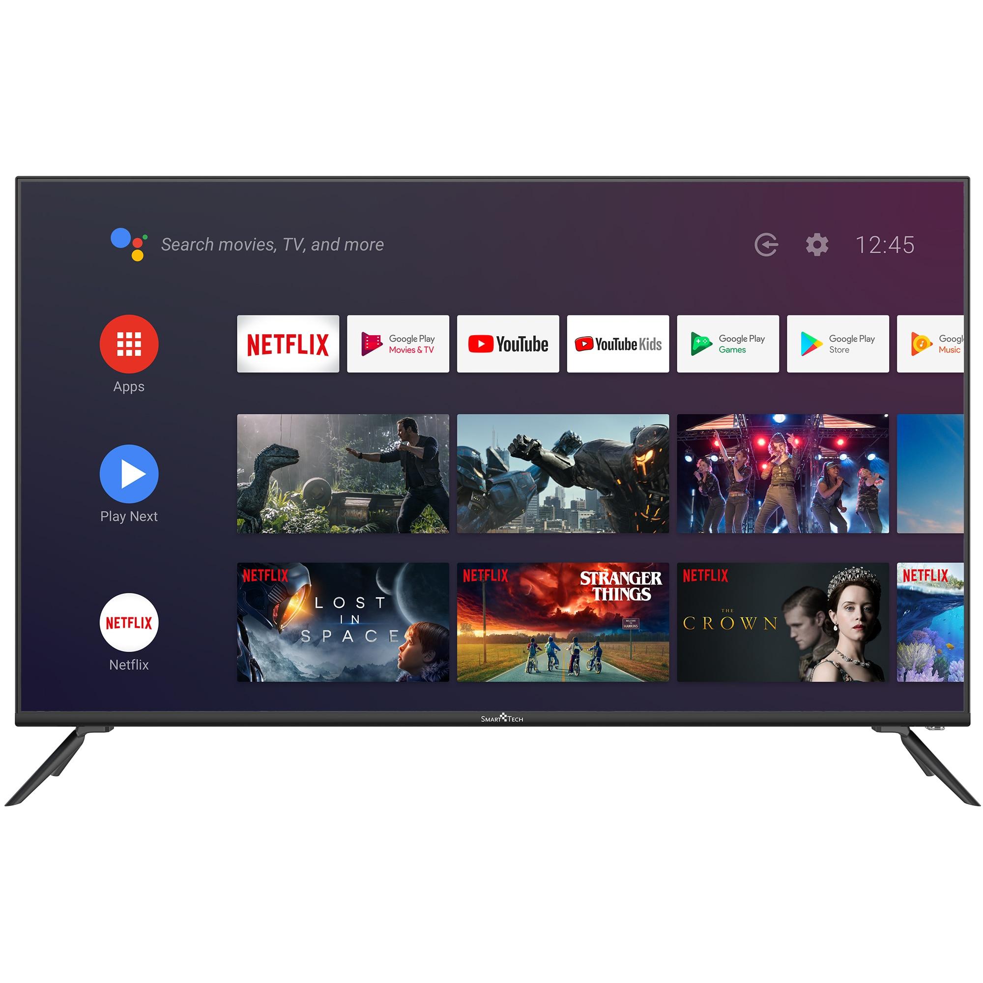 Fotografie Televizor Smart Tech 50F30UC2, 127 CM, Smart Android, 4K Ultra HD LED