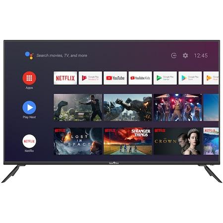 """Телевизор Smart Tech 50F30UC2, 50"""" (127 см), Smart Android, 4K Ultra HD LED"""
