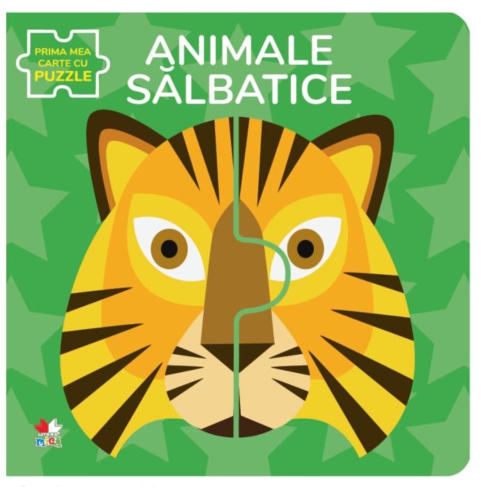 Fotografie Animale salbatice. Prima mea carte cu puzzle