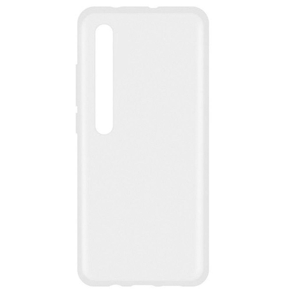 Fotografie Husa de protectie Lemontti Silicon pentru Xiaomi Mi 10 Pro 5G, Transparent