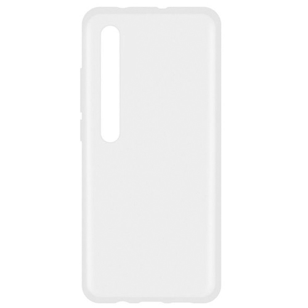Fotografie Husa de protectie Lemontti Silicon pentru Xiaomi Mi 10 5G, Transparent