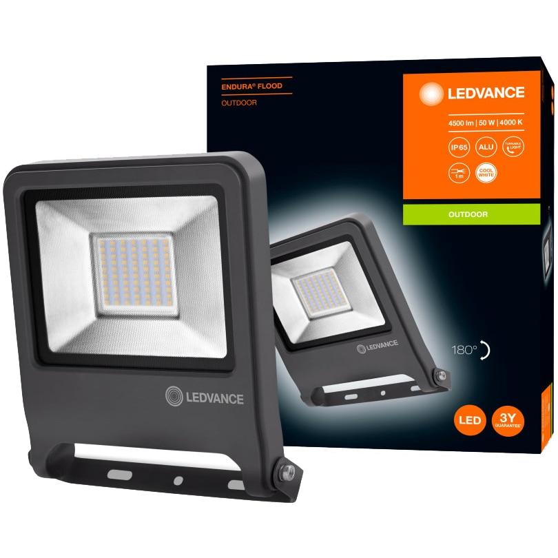 Fotografie Proiector LED Ledvance Endura, 50W, 4500 lm, lumina neutra (4000K), IP65