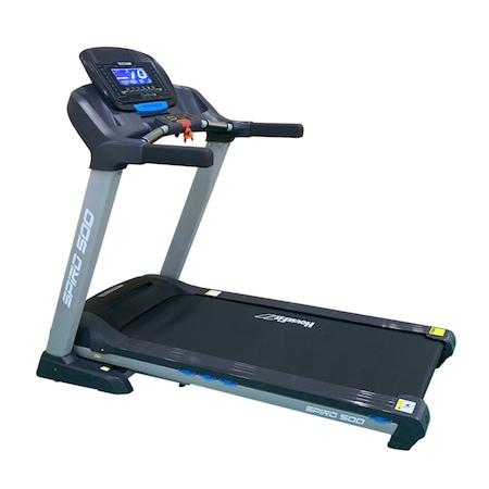 Banda de alergat electrica Housefit HB 9857EL, viteza max 18km/h, greutate max utilizator 130 kg