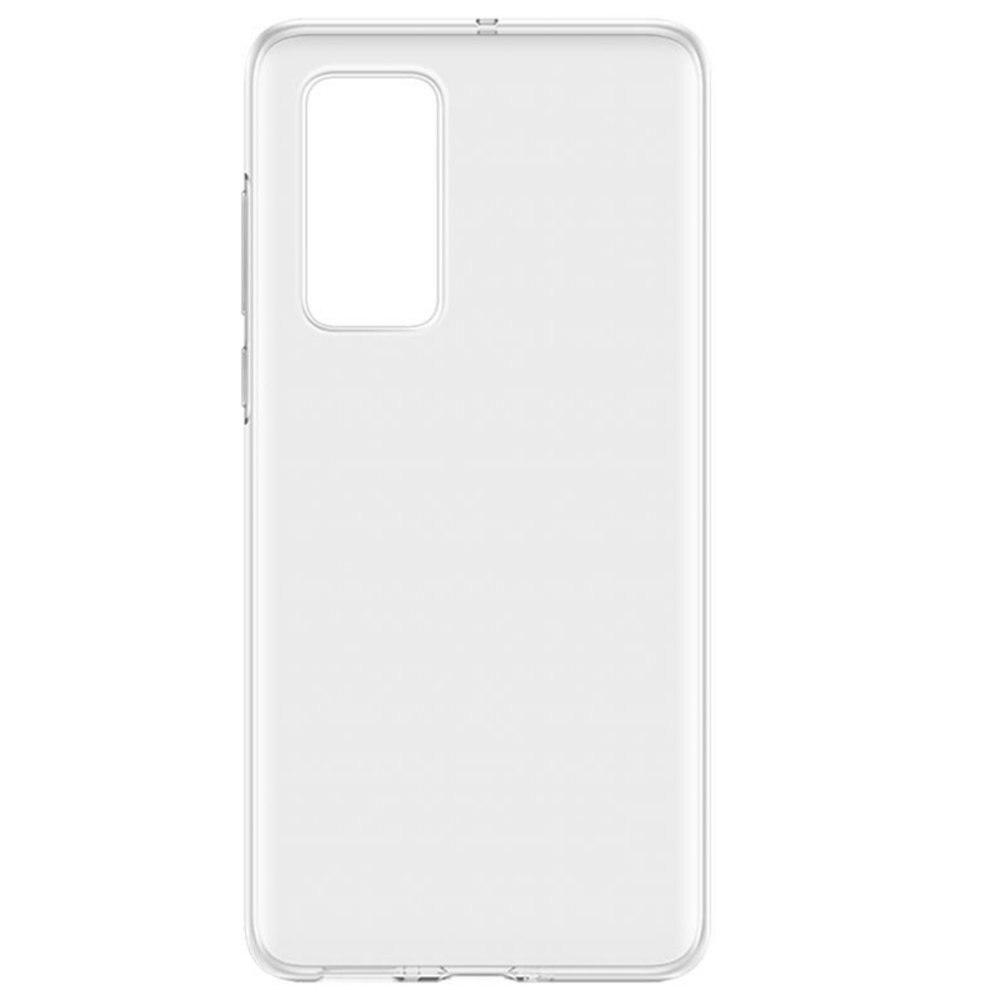 Fotografie Husa de protectie Lemontti Silicon pentru Huawei P40 Pro, Transparent