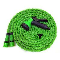 Градинарски маркуч Magic Hose Разтегателен 60 метра, Зелен