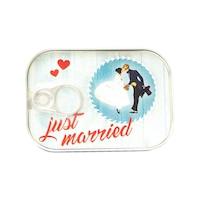 Картичка-консерва Gespaensterwald, Just married