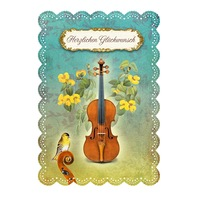 Картичка Gespaensterwald, Romantique, цигулка