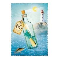 Картичка Gespansterwald Romantique, Happy Birthday 60
