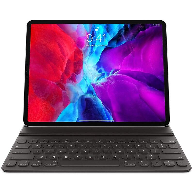 "Fotografie Husa cu tastatura Apple Smart Keyboard Folio pentru iPad Pro 12.9"" (2020), Layout US-EN, Black"
