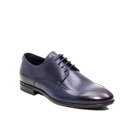 Pantofi barbati eleganti, piele naturala, LFX 577 BL Bleumarin 39 EU