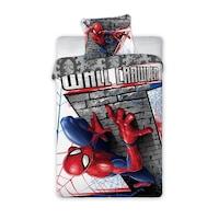 Spiderman ágyneműhuzat szett Wall crawler – 160×200 és 70×80 cm méret