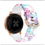 Каишка за часовник SPulse за Samsung Galaxy Watch Active, 20 mm , Butterfly