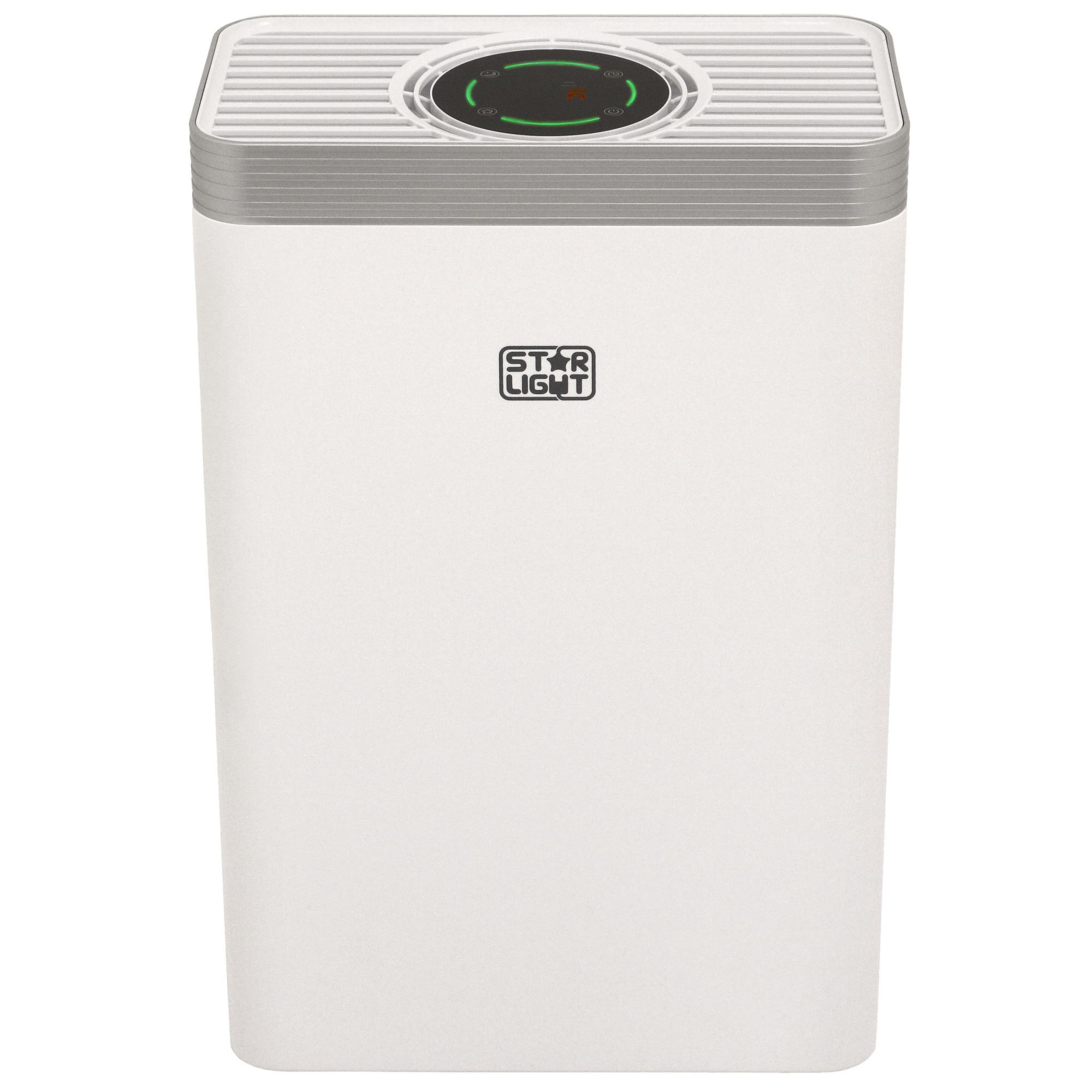 Fotografie Purificator de aer Star-Light APH-2125W, 210 m3/h, 5 niveluri de filtrare, Indicator calitate aer, Timer, Mod Auto, Alb