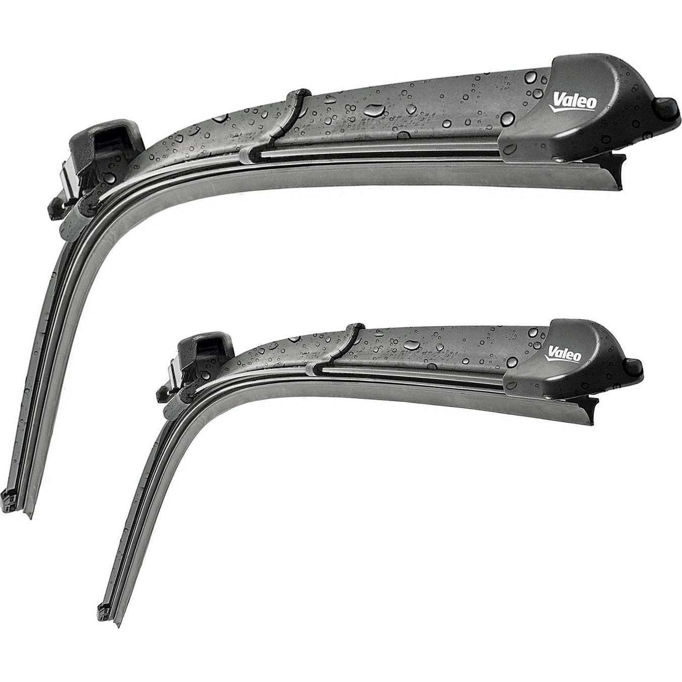 Fotografie Set stergatoare Valeo Silencio X.TRM Flat Blade pentru parbriz 65/60 cm VW Crafter Mercedes Sprinter