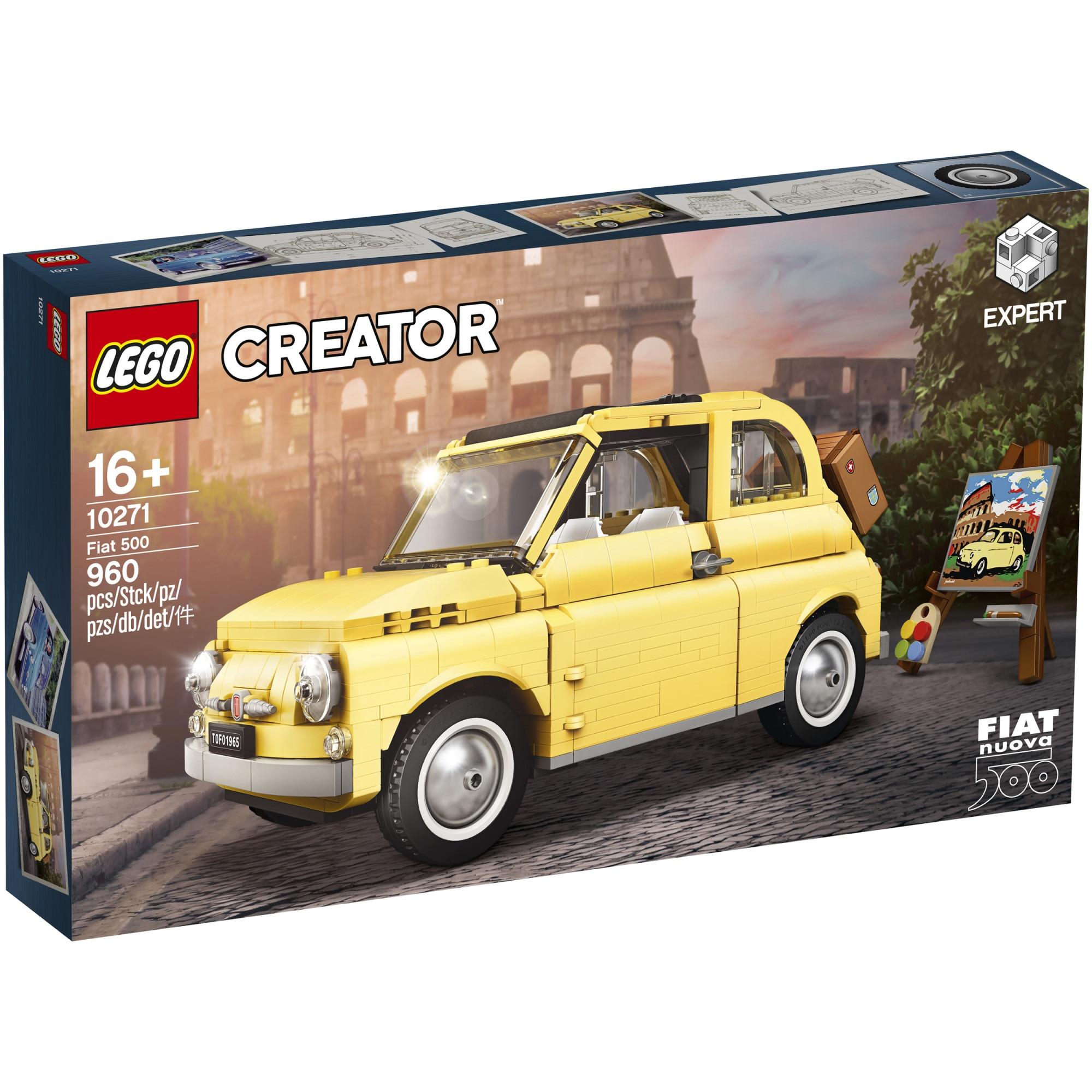 Fotografie LEGO Creator Expert - Fiat 500 10271