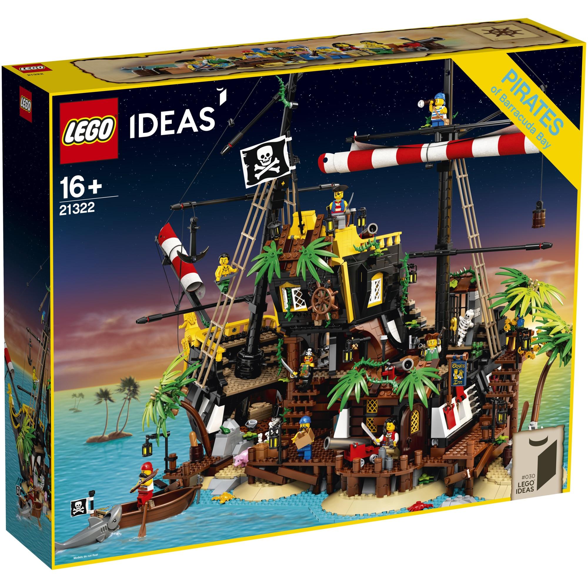 Fotografie LEGO Ideas - Piratii din golful Barracuda 21322, 2545 piese