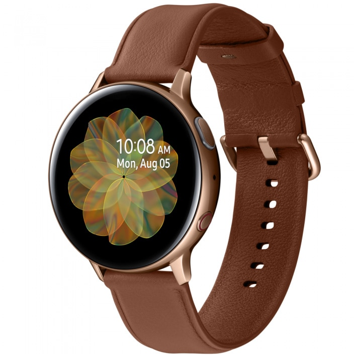 Fotografie Ceas Smartwatch Samsung Galaxy Watch Active 2, 44mm, 4G, Stainless Gold