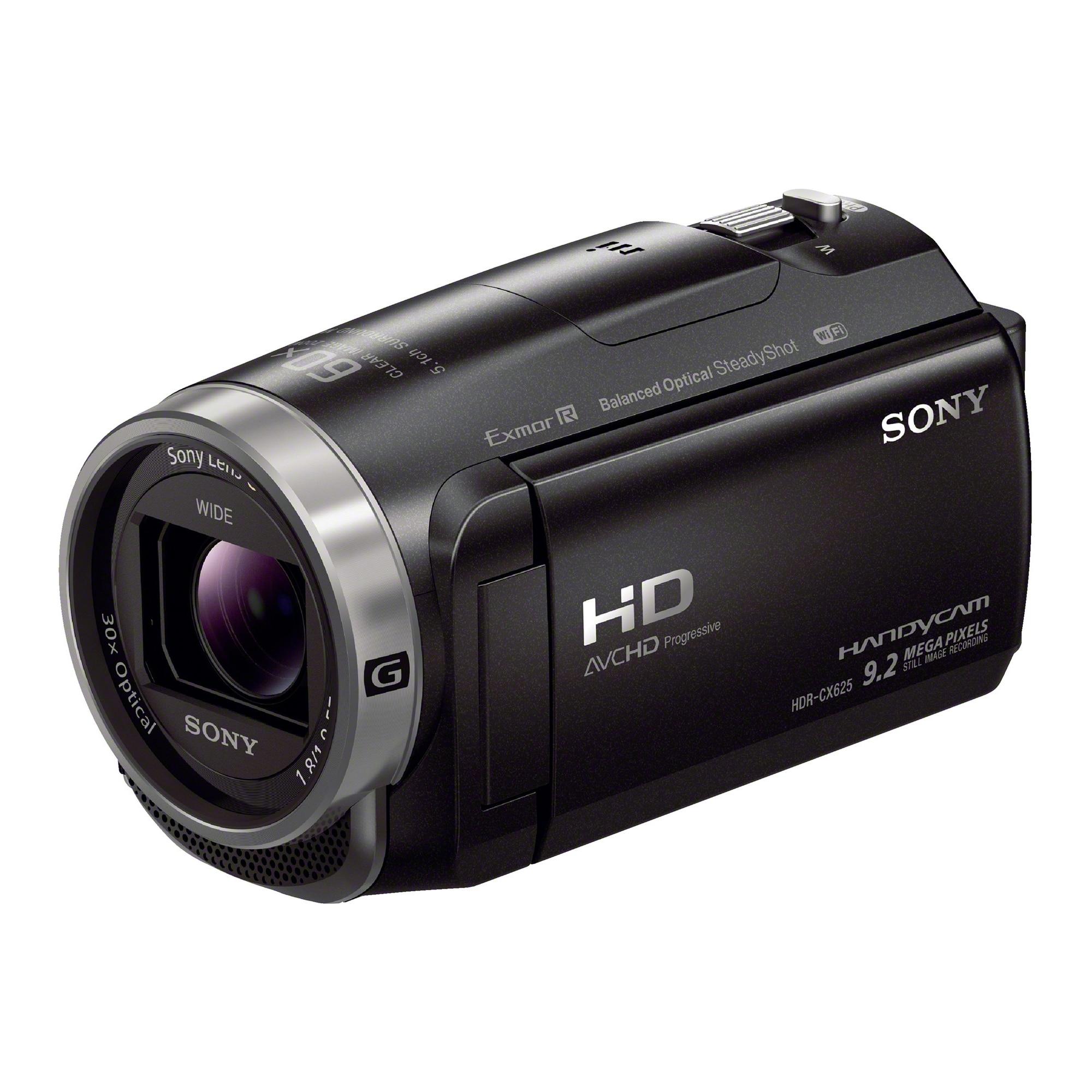 Fotografie Camera video Sony Handycam HDRCX625, Full HD, Negru
