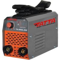 Заваръчен апарат Tatta TA-MMA-200, Абсорбирана мощност 7.1 kVA, Ефективност85%, Електрод 1.6-3.2 мм