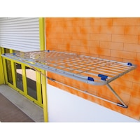 uscator de rufe pliabil de perete