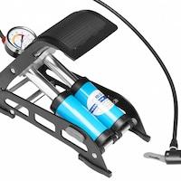 pompa bicicleta cu manometru