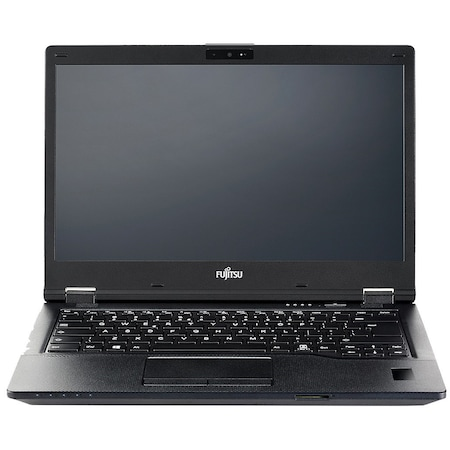 Лаптоп Fujitsu Lifebook E5410 с Intel Core i5-10210U (1.60/4.20 GHz, 6M), 8 GB, 256GB M.2 NVMe SSD, Intel UHD Graphics, Free DOS, черен
