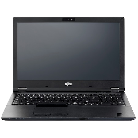 Лаптоп Fujitsu Lifebook E5510 с Intel Core i5-10210U (1.60/4.20 GHz, 6M), 8 GB, 1TB M.2 NVMe SSD, Intel UHD Graphics, Windows 10 Home 64-bit, черен