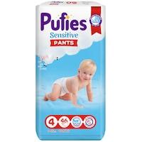 Pufies Pants Sensitive Maxi Bugyipelenka, 4-es méret, 9-15 kg, 46 darab