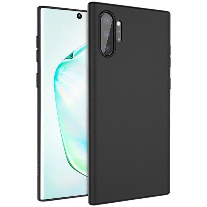 Fotografie Husa de protectie Hoco Silicon Fascination pentru Samsung Galaxy Note 10 Plus, Negru