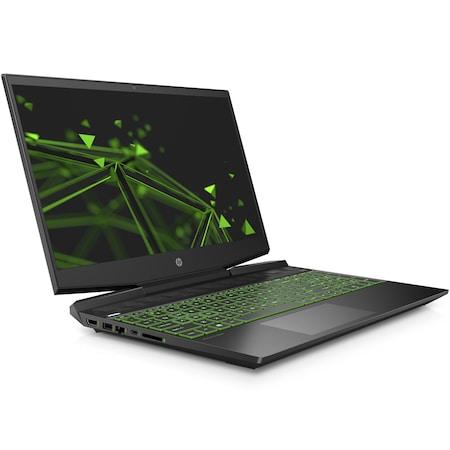 "Лаптоп Gaming HP Pavilion 15-dk1032nq, 15.6"", Intel® Core™ i7-10750H, RAM 16GB, SSD 512GB, NVIDIA® GeForce® GTX 1660 Ti Max-Q 6GB, Free DOS. Black"