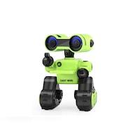 JJRC R13 CADY WIRI RC Robot 24cm programozható interaktív okosrobot (magyar útmutatóval intelligens hang,- érintésvezérléssel, távirányítós játék) - zöld