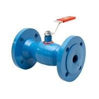 ISG UNIBALL, Úszógömbös redukált gömbcsap, DN80 PN16 Vízhez, karimás