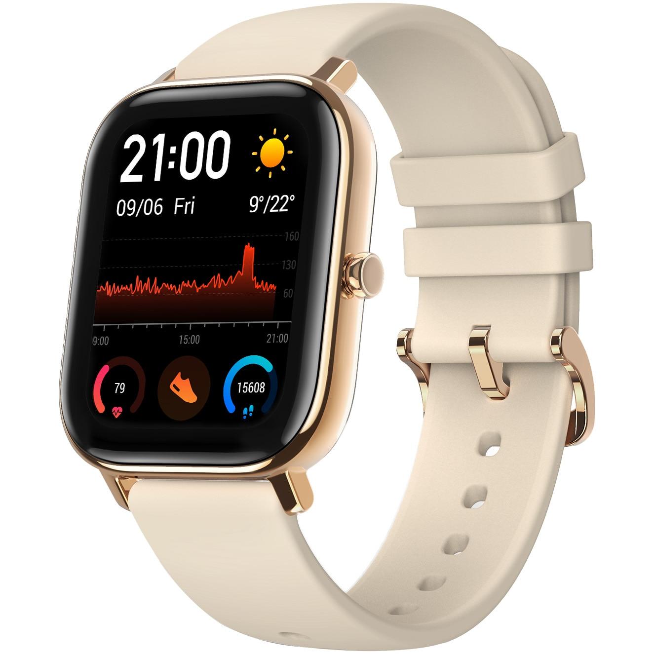Fotografie Ceas smartwatch Amazfit GTS, Desert Gold
