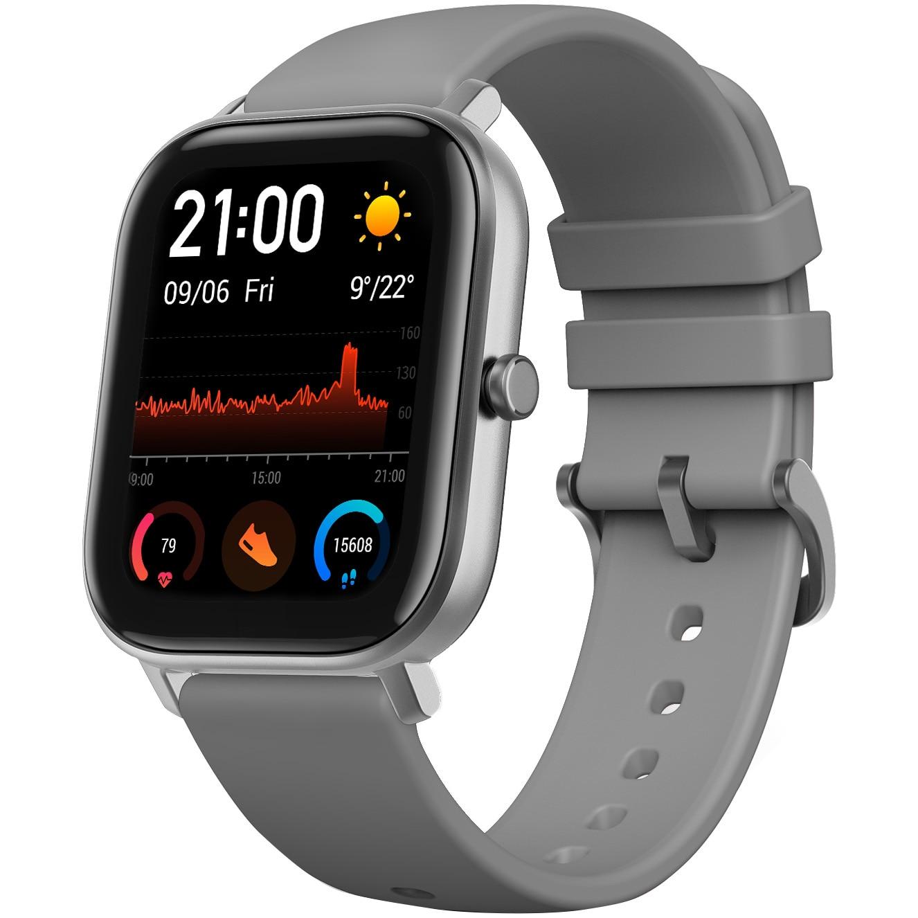 Fotografie Ceas smartwatch Amazfit GTS, Lava Grey