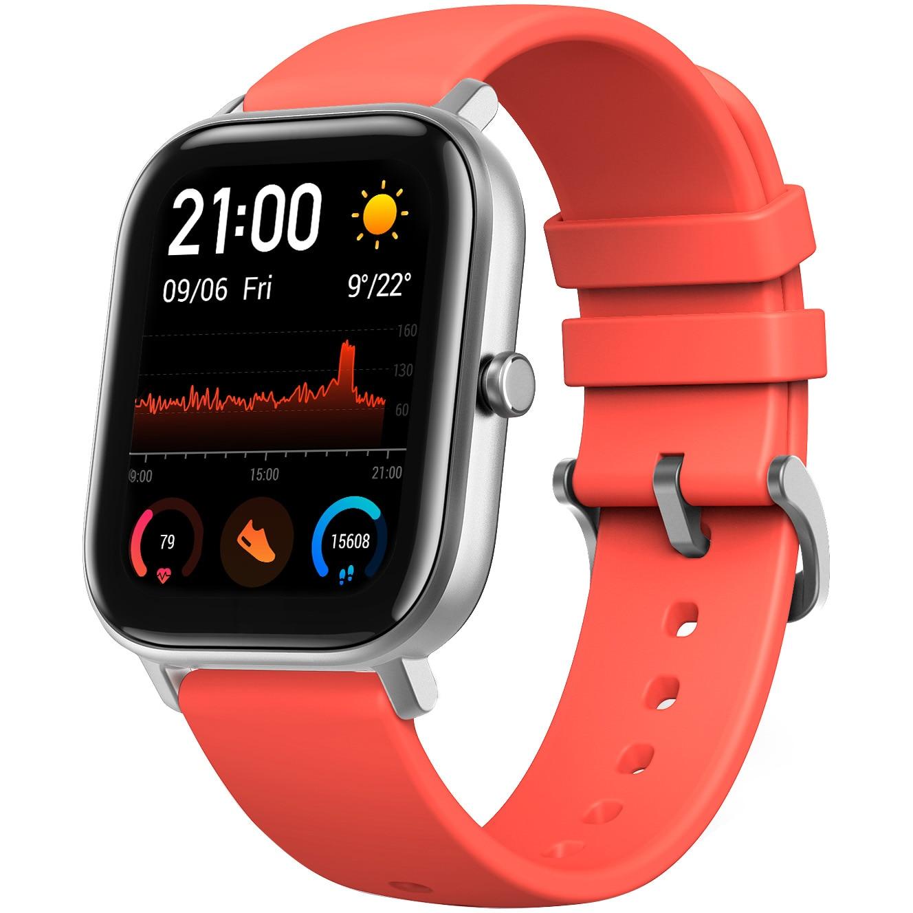 Fotografie Ceas smartwatch Amazfit GTS, Vermillion Orange