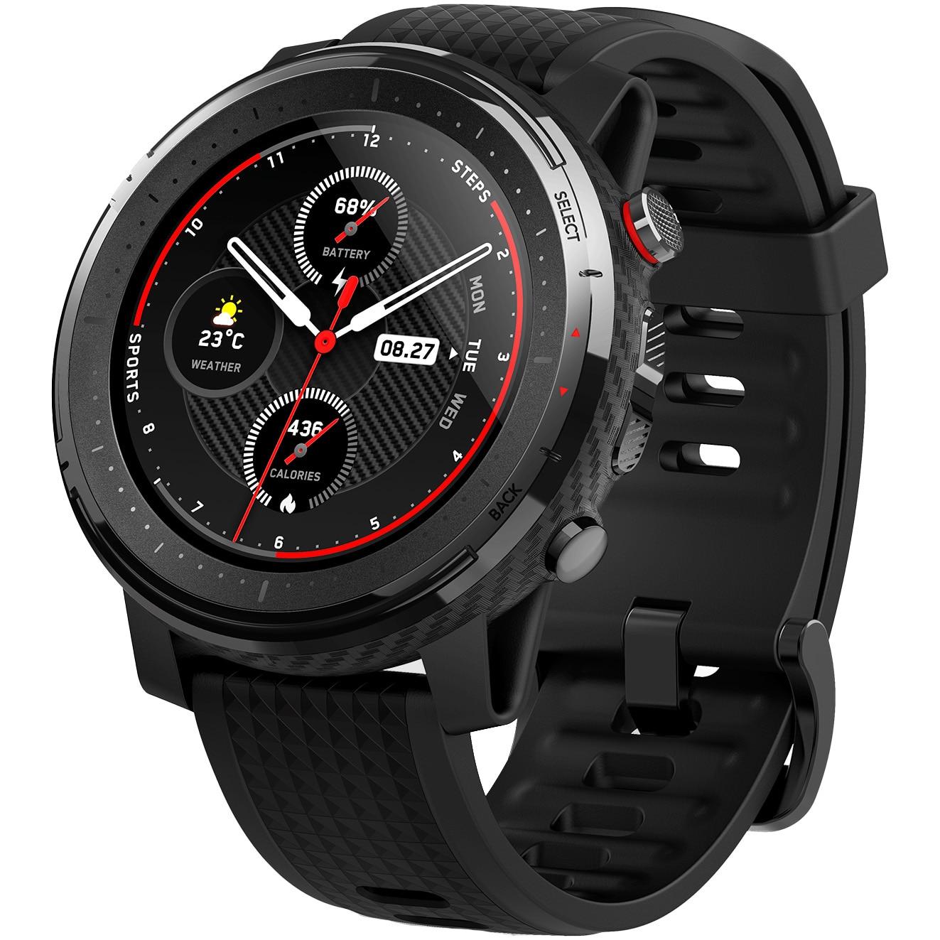 Fotografie Ceas smartwatch Amazfit Stratos 3, Black