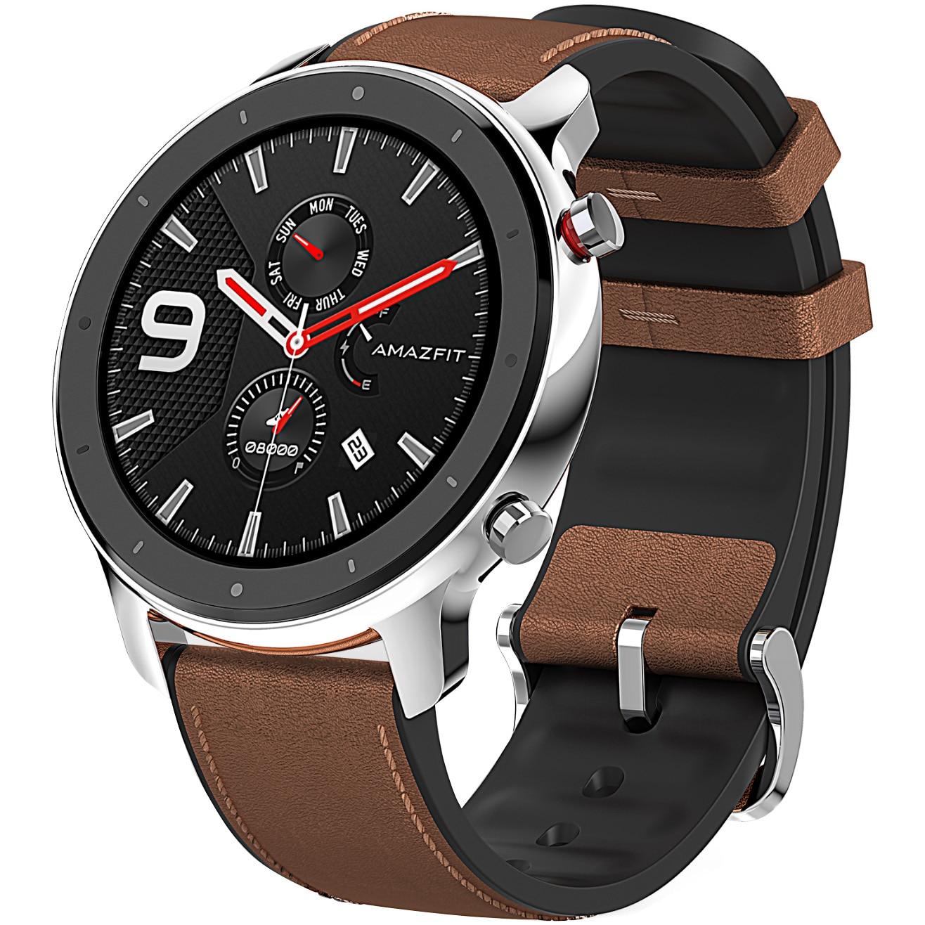Fotografie Ceas smartwatch Amazfit GTR, 47mm, Stainless Steel
